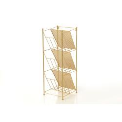 Porte-revues or 73 cm