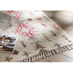 Tapis en coton cosy 160x230 cm