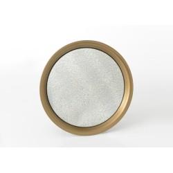Miroir rond or 38 cm