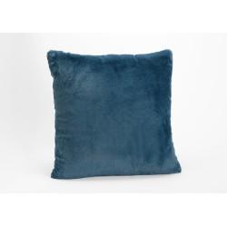 Coussin bleu nuit luxe...