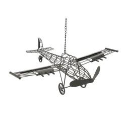 Suspension en métal avion