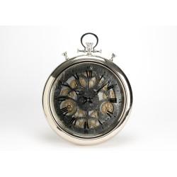 Horloge chrono argent