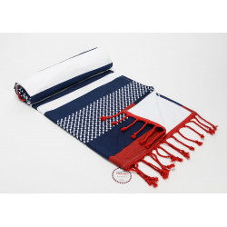 Fouta en coton Frenchie...