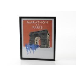 Affiche marathon 40x50 cm