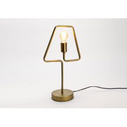 Lampe de table laiton en...
