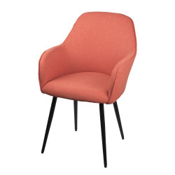 Fauteuil gabin color orange