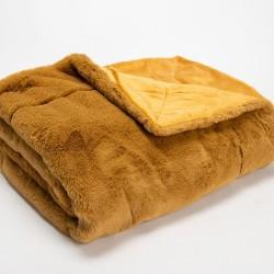 Plaid Luxe Camel 130x170 cm