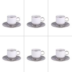 SET 6 TASSES A CAFE COMETE...