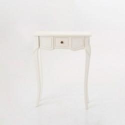 Console mini Loire blanc...