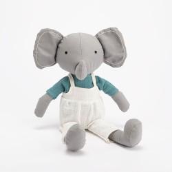 Peluche Lilian l'éléphant