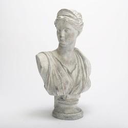 Statue buste femme