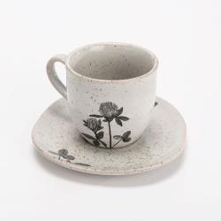 Tasse café avec sous-tasse...