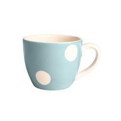 Tasse à café pois bleu...