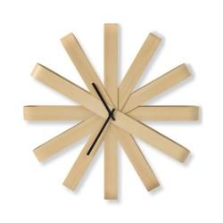 Horloge murale en bois...