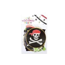 Guirlande pirate en papier