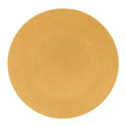 Assiette Vésuvio safran 31 cm