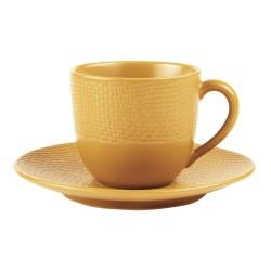 Tasse à café et sa soucoupe...