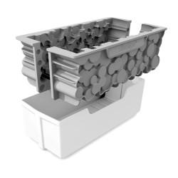 Kit buche Forêt 24x10 cm