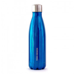Bouteille isotherme bleue...