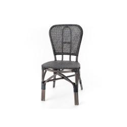 Chaise de bistrot Noir