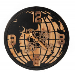 Horloge Monde 65cm