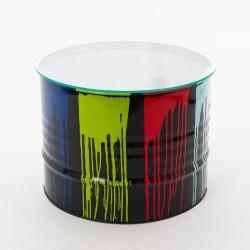 Table basse Trash Multicolore