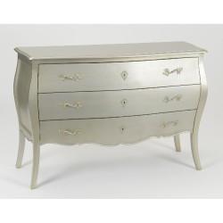 Commode Murano Silver