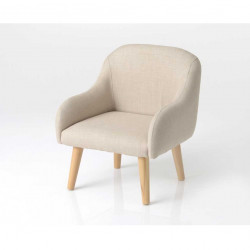 Fauteuil Hanz Taupe