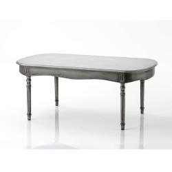 Table basse Médaillon métal