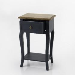 Table de chevet Seine Bleu