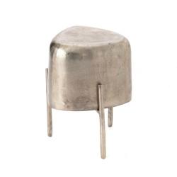 Tabouret porte-plante métal