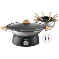 Wok et fondue électrique 900W