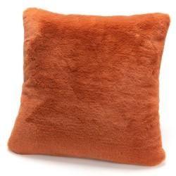 Coussin Luxe orange 50x50