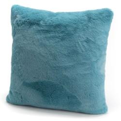 Coussin Luxe bleu 50x50