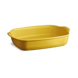 Plat à four rectangle jaune...