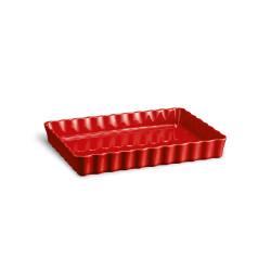 Tourtière rectangle rouge...