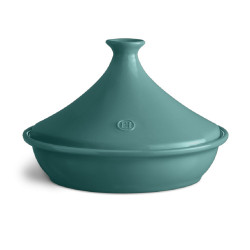 Tajine bleu en céramique 32 cm