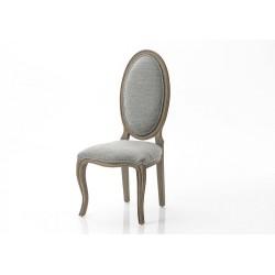 Chaise gris clair Sensey
