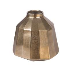 Vase Cannelle Juno Or 23 cm...