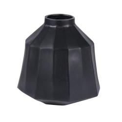 Vase Cannelle Juno Noir 23...