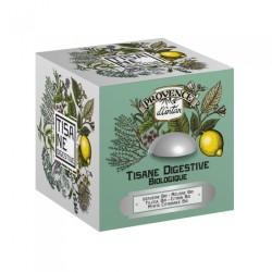 Cube métal tisane digestive...