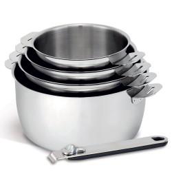 Série de 4 casseroles 14/20...