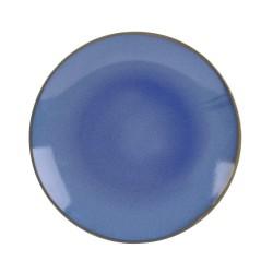 Assiette plate 27.5 cm bleu...