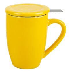 Tisanière 0.4 l jaune avec...