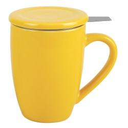 Tisanière 0.5 l jaune avec...