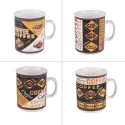 Mug coffee 30 cl (lot de 4)