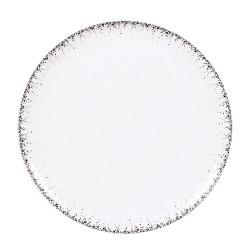 Plat à tarte borealis gris