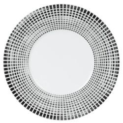 Plat rond 31 cm noir astral
