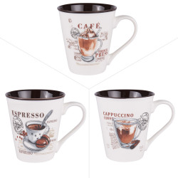 Mug troquet 35 cl (lot de 3)