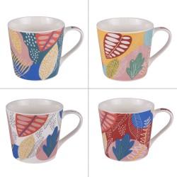Coffret de 4 mugs bogota 41 cl